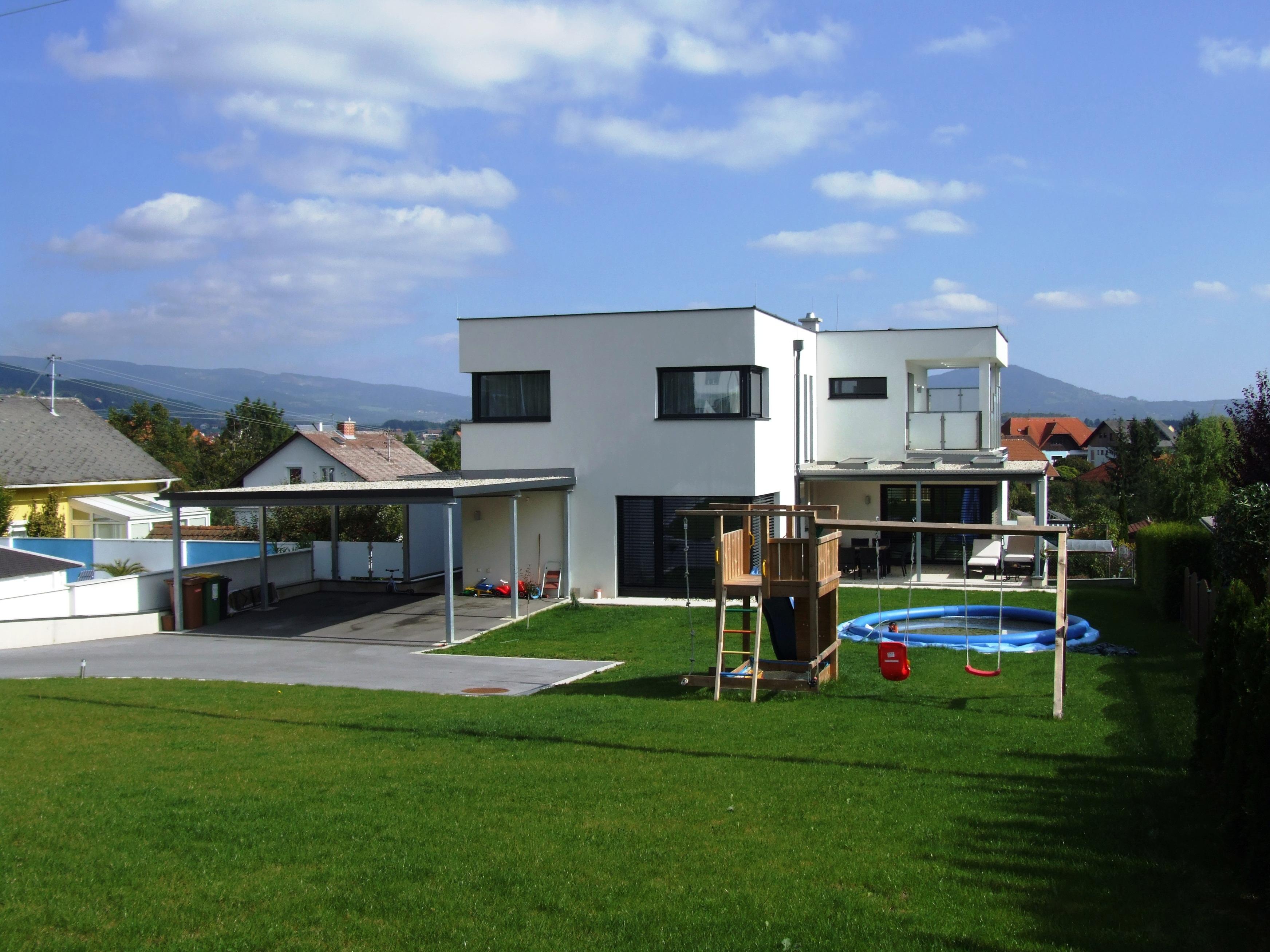 Baustelle Details Einfamilienwohnhaus Mit Vollunterkellerung Und